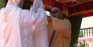 King Mohammed VI decorates a Moroccan Researcher